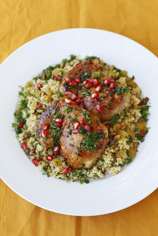 Chicken feast in the middle east pomegranate series part ii molasses glazed chicken forumfinder Choice Image